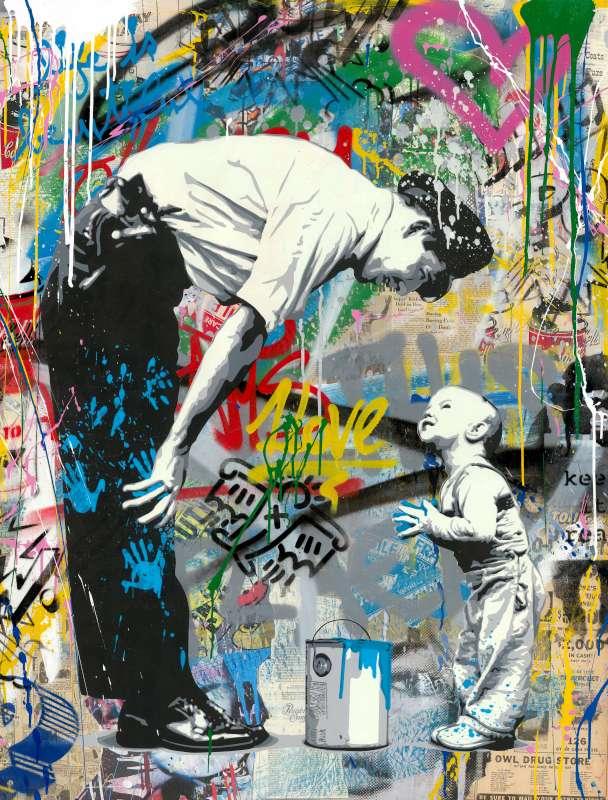 La Street Art è ufficialmente entrata a far parte del mercato dell'arte..?
