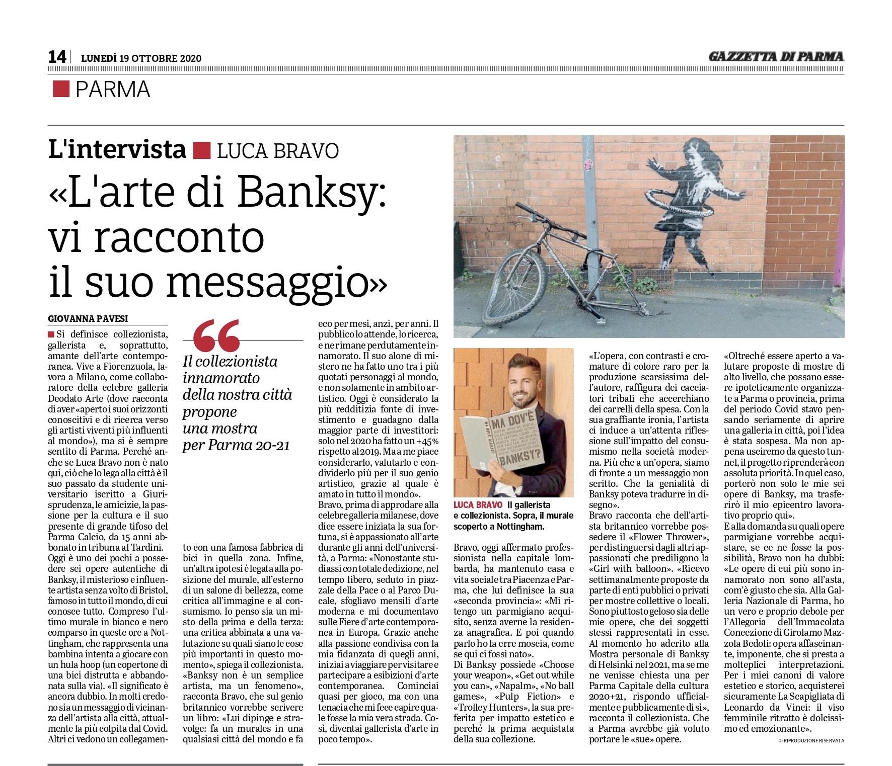 La Gazzetta di Parma - 19 ottobre